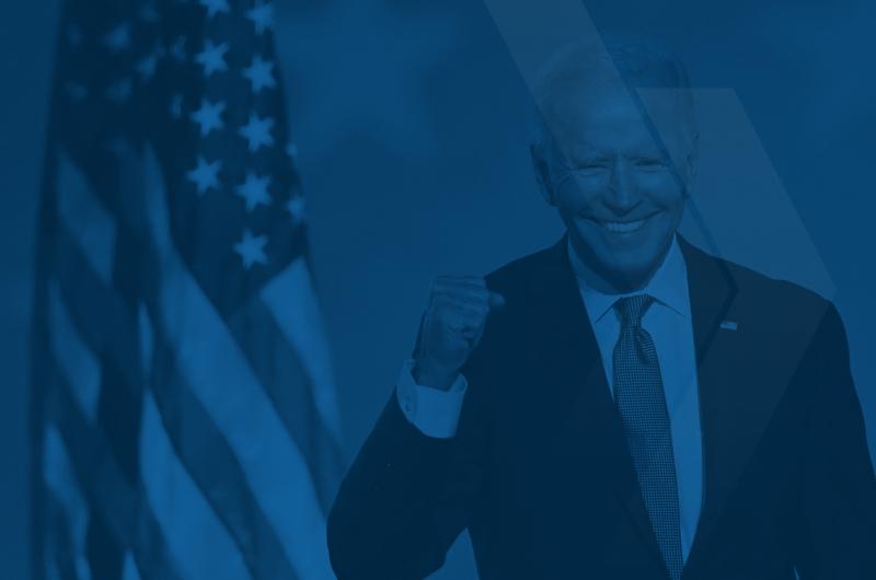 Após Biden ser eleito, economias mundiais sobem
